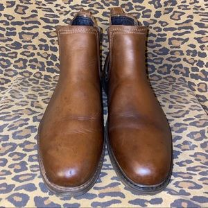 J.Murphy Brown Leather Boots Sz 10.5